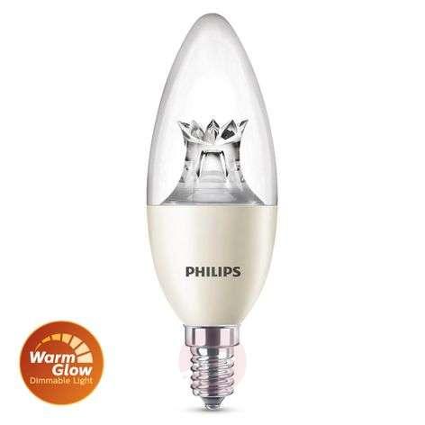 E14 8 W 822-827 LED candle bulb warm glow
