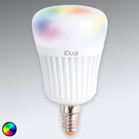 E14 iDual LED lamp 7W RGB without remote