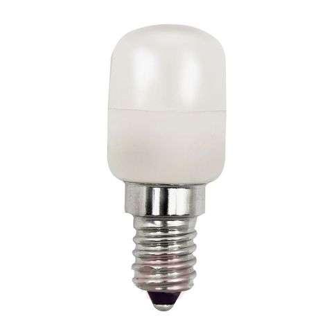 E14 LED fridge bulb 2.3 W 2,700 K
