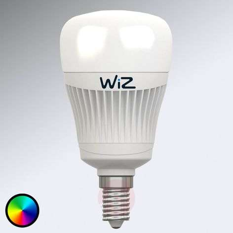 E14 WiZ LED bulb without remote, RGB + white