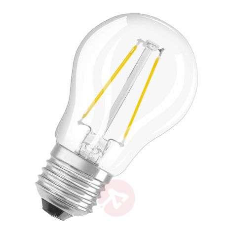 E27 1.4 W LED filament golf ball bulb