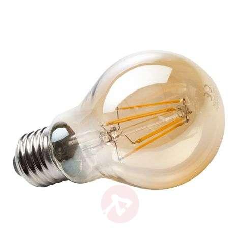 E27 4 W 820 LED filament bulb, gold