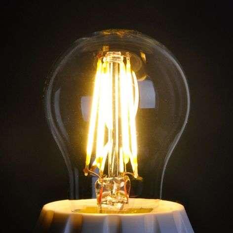 E27 4W 827 LED golf ball bulb, clear