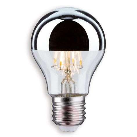 E27 5 W / 7.5 W 827 LED half mirror bulb