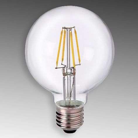 E27 5 W 827 LED globe G80, clear-8530166-31