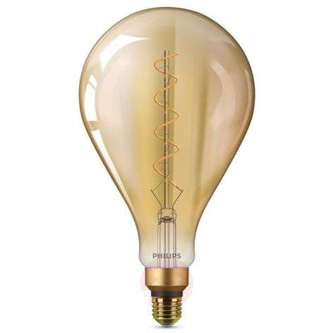 E27 5 W Giant LED bulb, warm white, gold