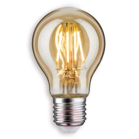 E27 5W/7.5W 825 LED traditional light bulb gold