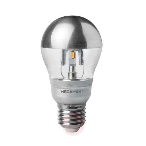 E27 5W LED mirror bulb silver, dimmable 2,800 K-6530126-31