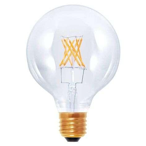 E27 6W 822 LED globe lamp G95