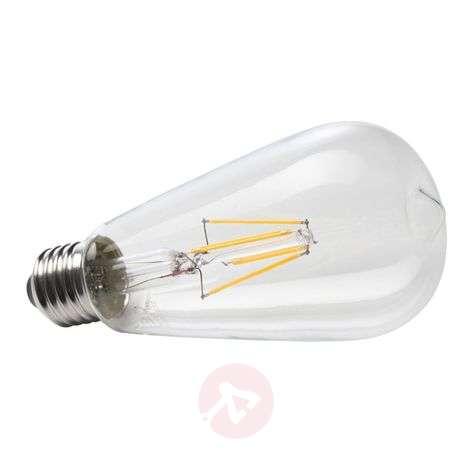 E27 6W 827 LED rustical filament bulb