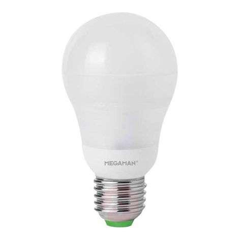 E27 7.4W 840 LED bulb, opal