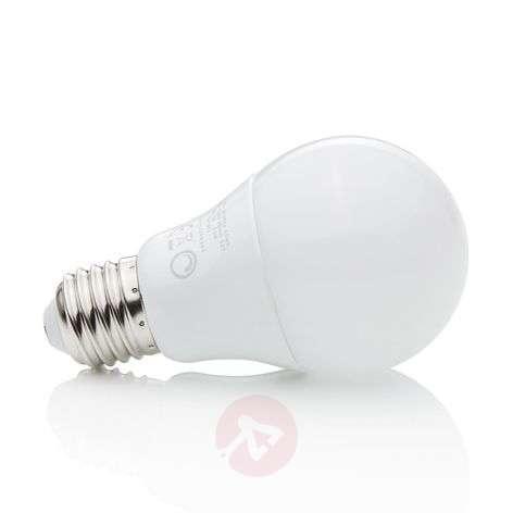 E27 8.6W 827 LED bulb, matt, dimmable-9645003-33