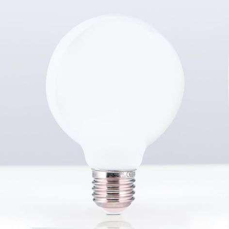 E27 8 W 828 LED globe bulb G95 opal