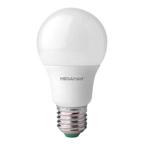 E27 9.5W 840 LED bulb, matt