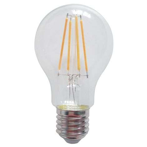 E27 LED bulb WiFi 7 W warm white filament clear