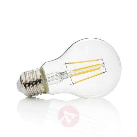 E27 LED fiilament bulb 4 W, 470 lm, 2,700 K, clear