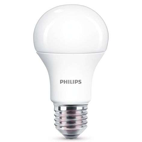 E27 WarmGlow LED bulb 11 W matt, dimmable