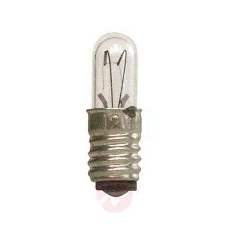 E5 0.4 W 12 V spare bulbs, 5-pack, clear