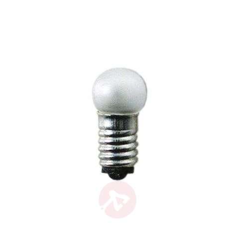 E5 0.6W 12V 5 bulbs for LV window candle, matt