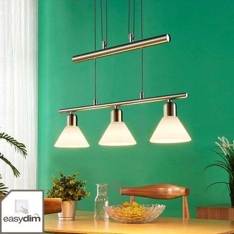 Easydim dining table pendant light Eleasa with LED-9621384-32