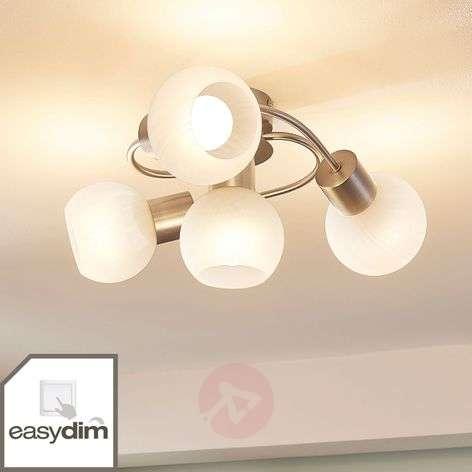 Easydim LED ceiling light Tanos, 4 white shades