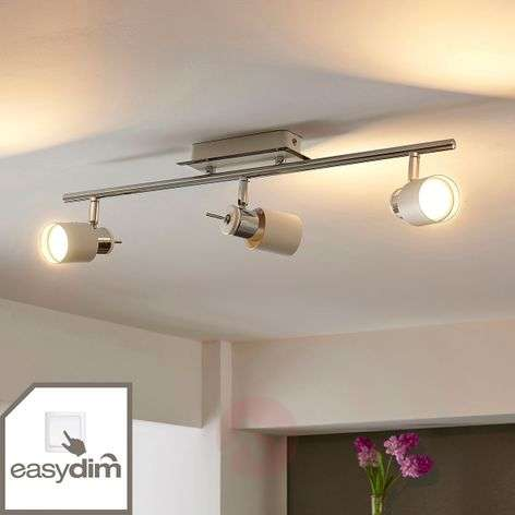 Easydim LED spotlight Maris, three-bulb
