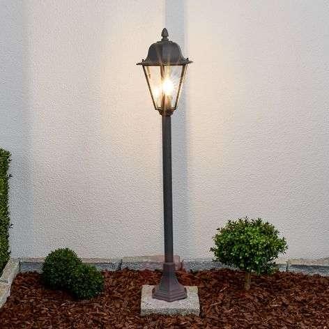 Edana - bollard lamp in graphite grey