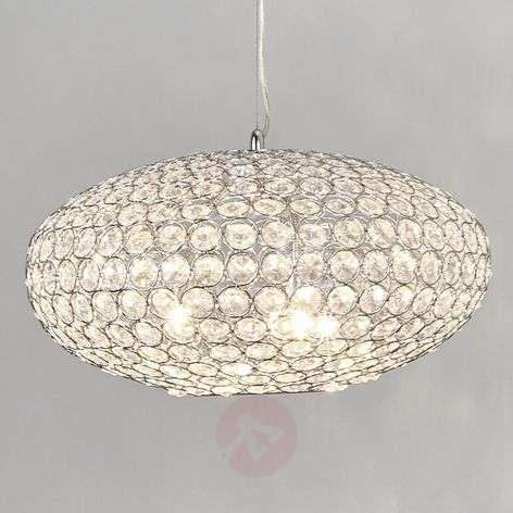 Edda crystal pendant lamp