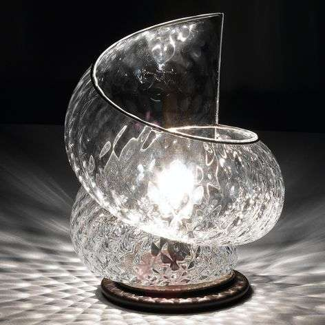 Effective Chiocciola table lamp