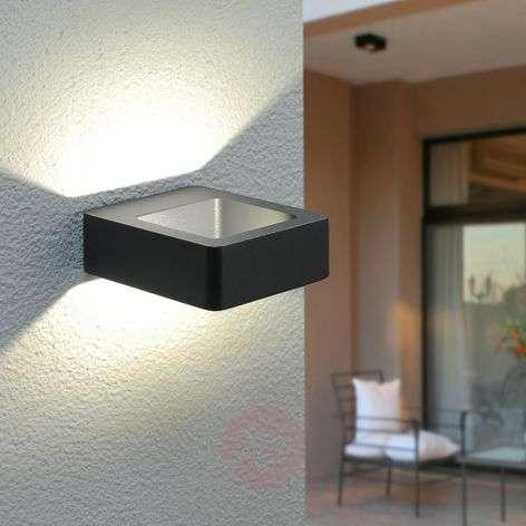 Effective LED outdoor wall light Bernardo