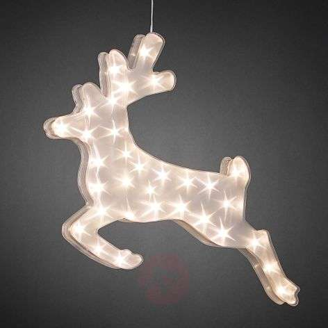 Effective reindeer LED decorative light