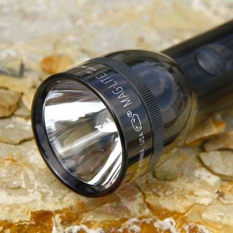 Efficient Maglite torch 2 D-Cell, black-6535011-31