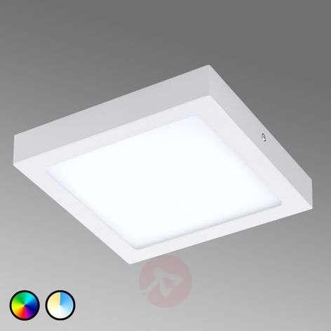 EGLO connect Fueva-C ceiling lamp square 22.5 cm