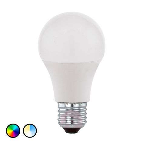 EGLO connect LED bulb E27 9 W LED RGB and white