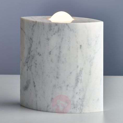 Egyptian Eye - marble floor lamp with dimmer