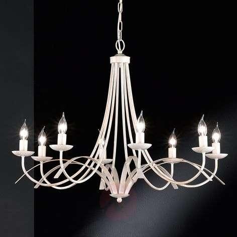 Eight-bulb chandelier Hannes