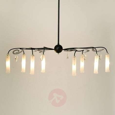 Eight-bulb LED hanging light Casino Oval
