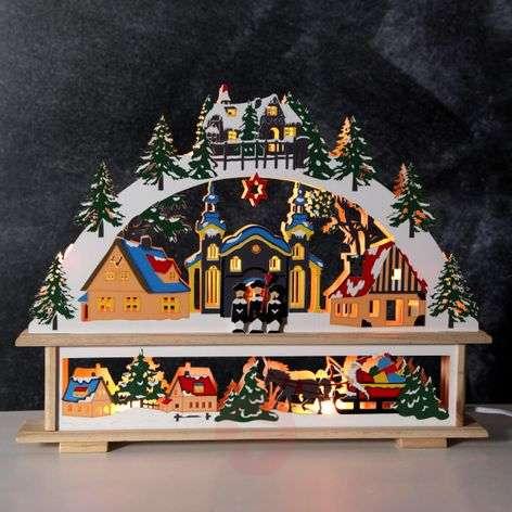 Elaborately designed candle arch Straubing