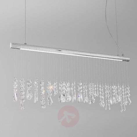 Elegant crystal hanging light Stretta