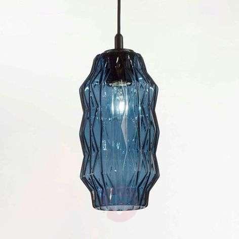 Elegant glass pendant light Origami