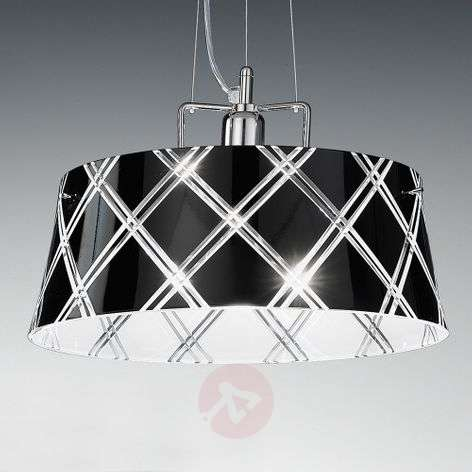 Elegant hanging light CORALLO 40 one-bulb