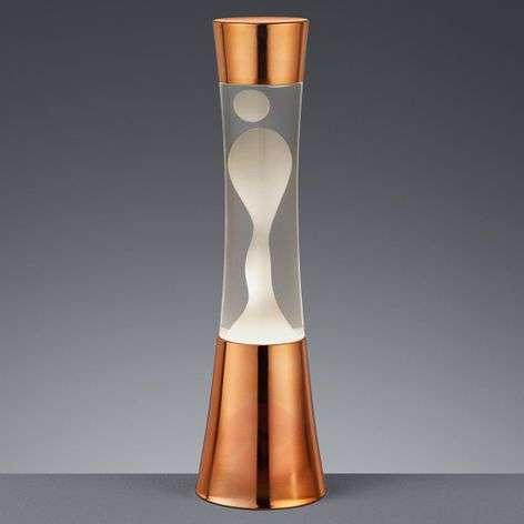 Elegant Irvin lava lamp in a copper look-8029143-32