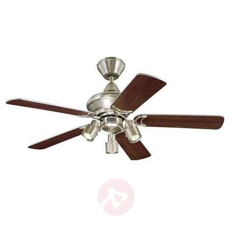 Elegant Kingston ceiling fan, two-colour blades