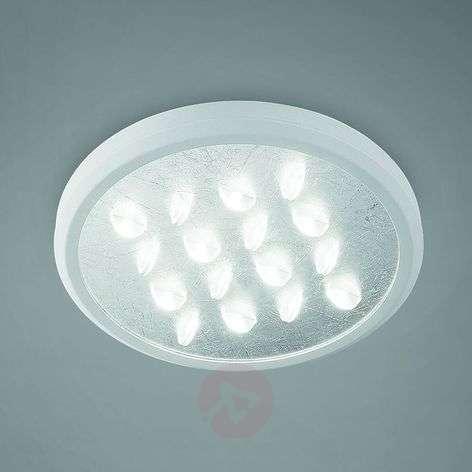 Elegant LED ceiling light Luno, fantastic finish