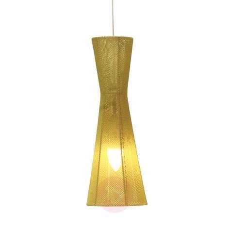 Elegant LED hanging light Felice, 40 cm, green