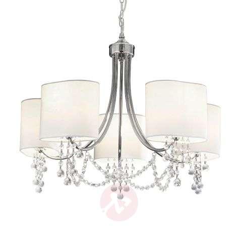 Elegant, modern Nina chandelier