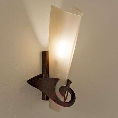 Elegant Phantom wall light rust gold