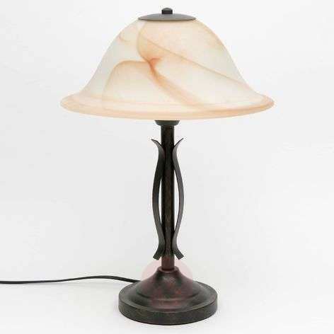 Elegant table lamp Fiore with switch