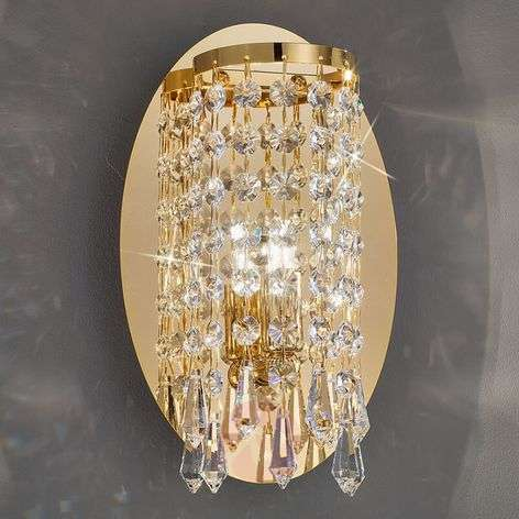 Elegant wall light CHARLESTON in gold