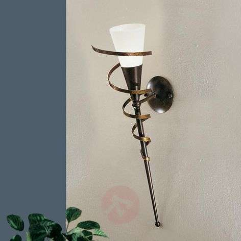 Elegant wall torch BONITO